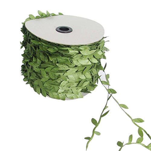 dufu-beauty-store Silk Nature Artificial Leaves Vine Wedding Decoration Wreath Fake Flowers -
