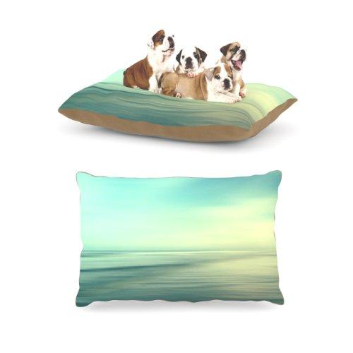 Kess InHouse Sylvia Cook ''Beach'' Fleece Dog Bed, 30 by 40-Inch by Kess InHouse