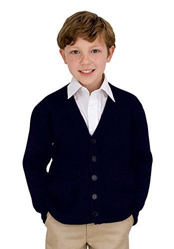 UPC 884503071336, French Toast Uniforms Boys' Anti-Pill Navy Cardigan Sweater (10)