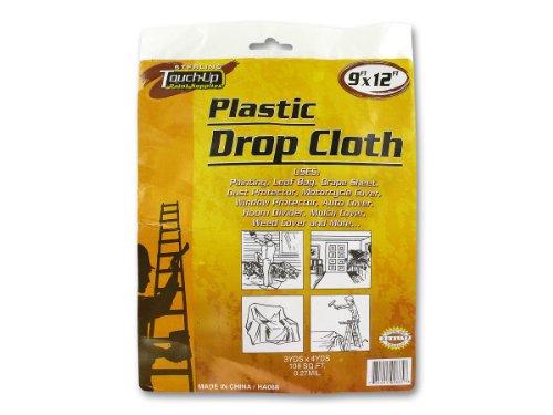 Sterling GM762 Plastic Drop Cloth, Transparent