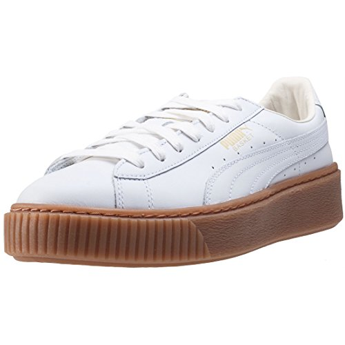 Puma Basket Creepers Metallic W Calzado White