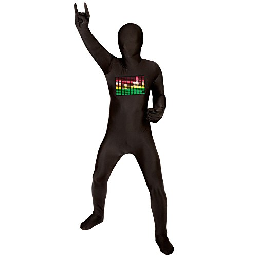 Morphsuits Kids Raver Costume - size Large 4'-4'6 -