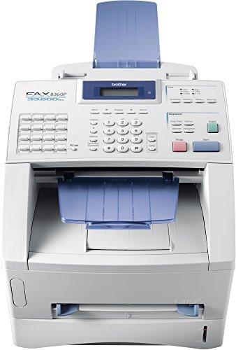 Brother FAX-8360P Laser-Faxgerät, weiß