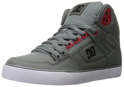DC Herren-Span Hallo Wc TM Kunst Hallo Schuh, EUR: 50, Grey/Black/Red