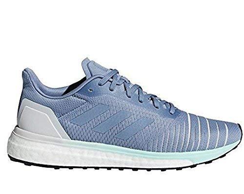 adidas Solar Drive Shoe Women's Running 8.5 Raw Grey-Clear Mint