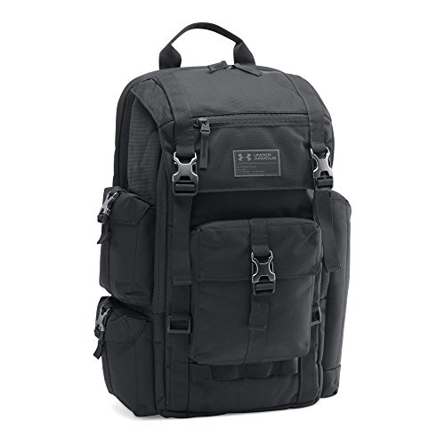Under Armour CORDURA Regiment Backpack, Black/Black, One Size by Under Armour