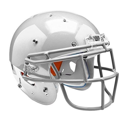 Schutt Sports 798004 Youth Recruit Hybrid Football Helmet (Face Mask Included), White, (Dna Recruit Youth Football Helmet)