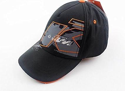 Gorra KTM Racing Team Official 2015, color negro y naranja: Amazon ...