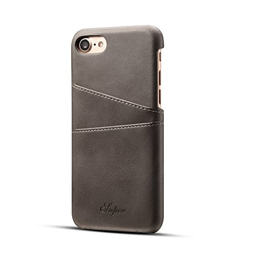 Leather Cover Case For iPhone 7(2017), MKLOT Premium PU Leather Case with...