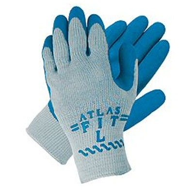 (Atlas Glove 300 Atlas Fit Super Grip Gloves - Large)