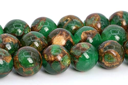 8MM Synthetic Green Sandstone Beads Grade AAA Round Gemstone Loose Beads 15.5