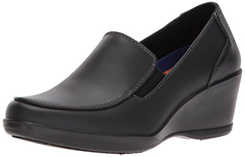 Dr. Scholl's Women's Glad Uniform Dress Shoe, Black, 8.5 M US