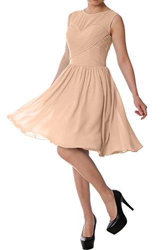 Senza Linea Maniche A Vestito Macloth Ad Donna Champagne 4fInw