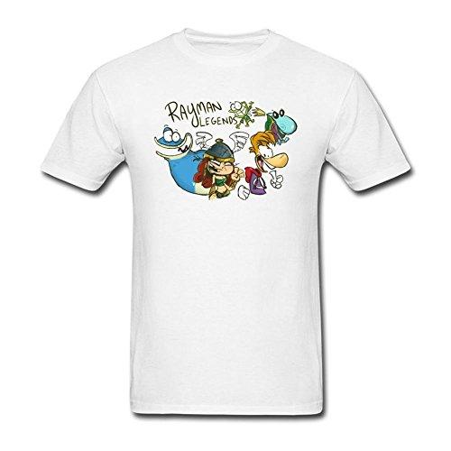Legends Design Cotton T Shirt L (Rayman Golf)