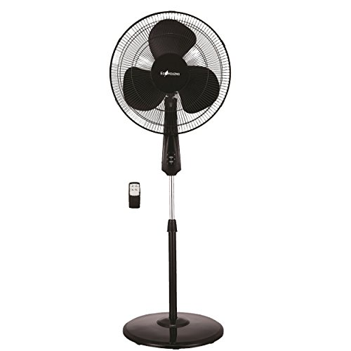 Ecohouzng CT4001R Digital Oscillating Stand Fan, Black