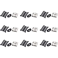 9 x Quantity of Walkera Rodeo 150 150-Z-06(B) Support Block Black