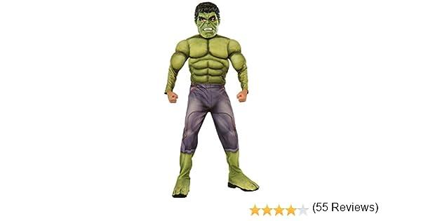 Rubies Rubies - Disfraz para niño, diseño Hulk de Marvel, talla M 610429-M