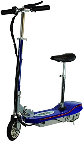 120W Zipper Kids Electric Scooter With LED Lights - Blue Zipper Scooters