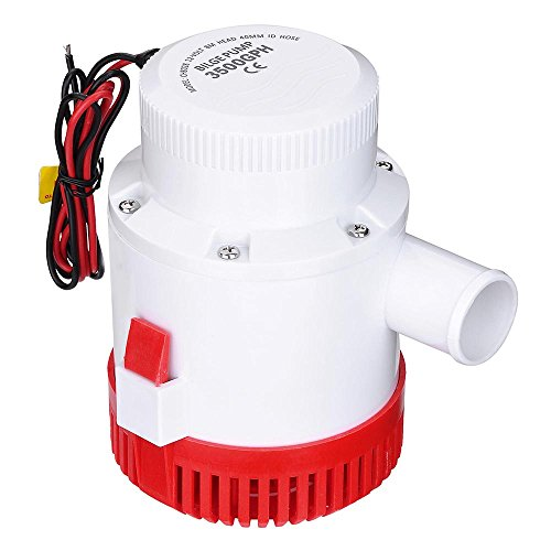 Bei Cheng 12Volt 3500 GPH Marine Electric Bilge Pump for Boat Yacht Durable Plastic housing, Rust Resistant US Delivery