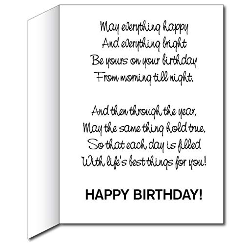 Victorystore Jumbo Greeting Cards Giant Birthday Card