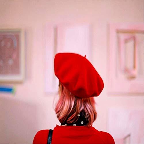 Béret D'hiver Trois En Béret Chapeaux Peintre Champignon Et style Chapeau De red Gray Dimensions Automne Cent Femmes Filles Ads gSdwX6qS