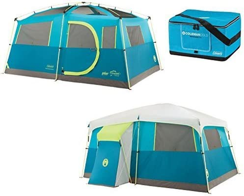 Coleman 8-Person Tenaya Lake Fast Pitch Cabin Tent with Closet