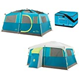 Amazon Com Coleman Octagon 98 Tent 13x13 Feet Sports