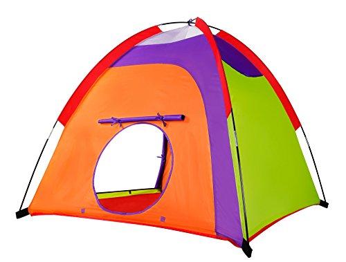Alvantor Kids Tent Indoor Children Play Toy Toddler Pop up Outdoor Games Colourful Curvy Patent, Red, Orange,Purple,Green, 48'' 48'' 42'' by Alvantor (Image #5)