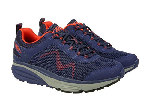 Mbt Casual Shoes (MBT Women's Colorado 17, Light Weight Casual Urban Hiker/Walker (8.5 US, Purple Blue Orange))