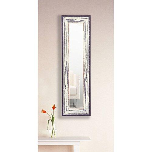 Rayne Mirrors Molly Dawn Rustic Seaside Wall Mirror, 1 Panel, 11.5W x 32.5H in. (Seaside Mirror)