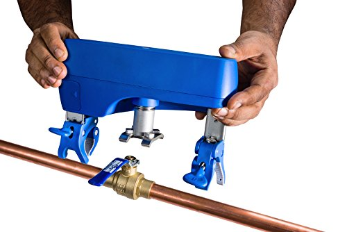 Guardian Leak Prevention System - No tools/pipe cutting and works with copper, PEX, or PVC pipes from 1/2