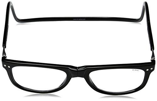 ca1915fff5a Clic Magnetic Eyeglasses Ashbury Reading Glasses in Black   +1.75. Black-2.5  x