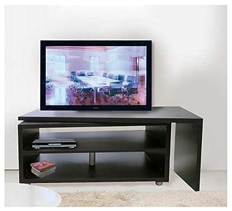 Porta Tv Girevole 360.Mobile Porta Tv Di Design Girevole 360 Larghezza 118 Cm