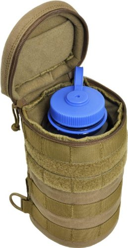 HAZARD 4 Jelly Roll Lens/Scope/Bottle Padded Case with Molle, Coyote by HAZARD 4