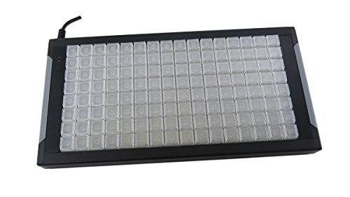 X-keys Programmable Keypads and Keyboards (128 Keys, XKE-128) - Tactile Labeling