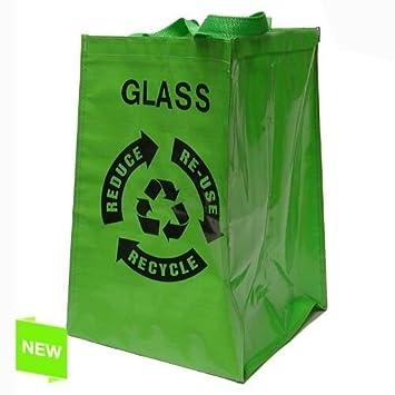 Home Line - Bolsa Reciclaje para Vidrio - 272502: Amazon.es ...