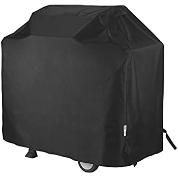 Unicook Heavy Duty Waterproof Barbecue Gas Grill Cover, Small 50-inch BBQ Cover, Special Fade and UV Resistant Material, Fits Grills of Weber Char-Broil Nexgrill Brinkmann and More, 50