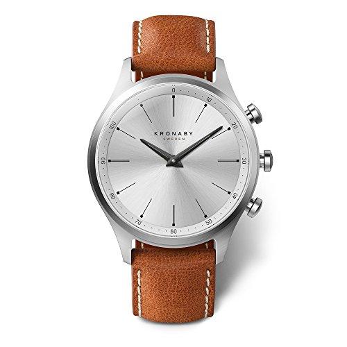 Mens Kronaby Sekel 41 Bluetooth Hybrid Watch A1000-3125