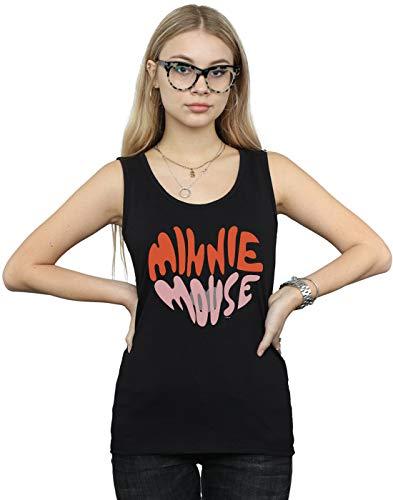 cuore a noir di Disney Femme Mouse Minnie forma Canotta x0zqZ1F