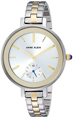 Anne Klein Women's AK/2991SVTT Two-Tone Bracelet Watch