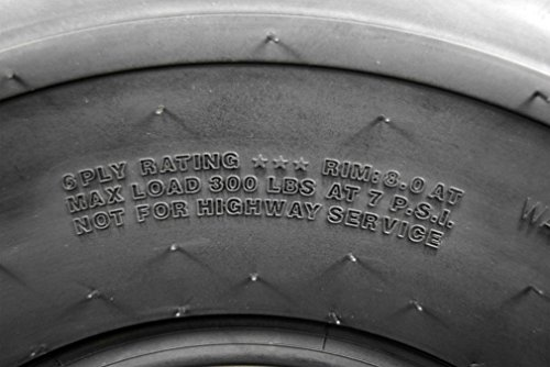 2 Set MASSFX 20X10-9 Dual Compound EOC20109 ATV Tires Rear 6 ply 20x10x9 2 Pack by MASSFX (Image #5)