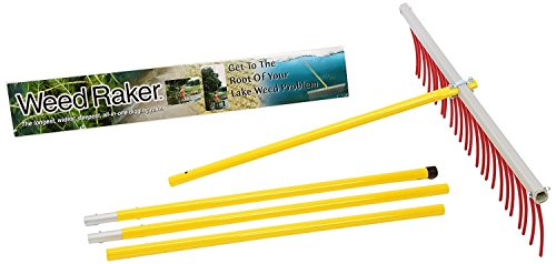 (The Weed Raker by Jenlis - Weed & Grass Removal Tool for Lakes, Ponds & Beaches)