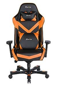 Throttle Series Charlie Premium Gaming Chair (Orange)