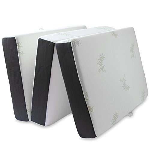 Lifesmart Memory Foam Tri Fold Mattress Twin