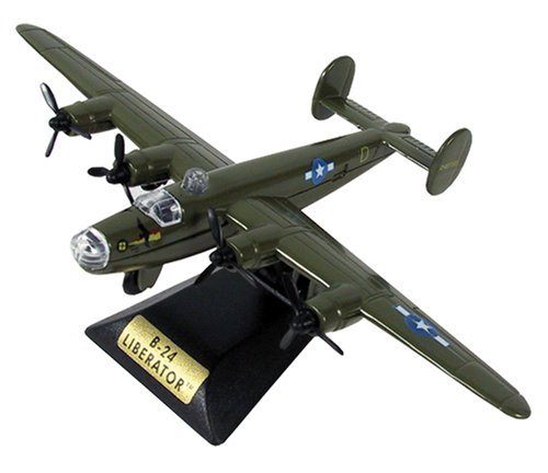 Sky Wings 1:100 Scale Richmond Toys Motormax B-24 Liberator Die-Cast Plane