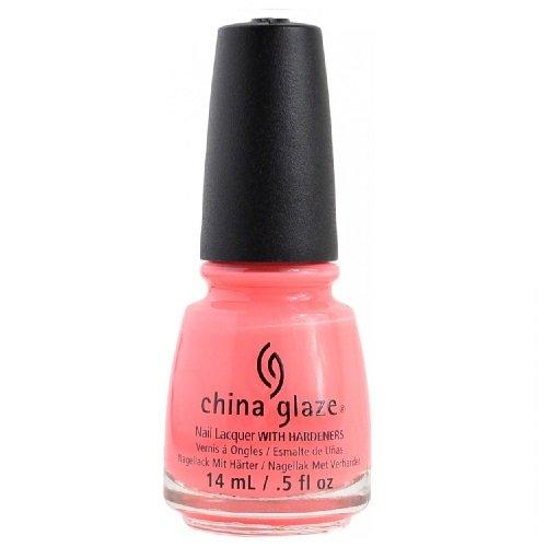 China Glaze Nail Polish, Petal to the Metal, 0.5 Ounce