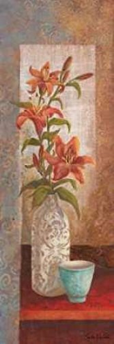 (Spiced Jewels I Poster Print by Linda Wacaster (12 x 36))