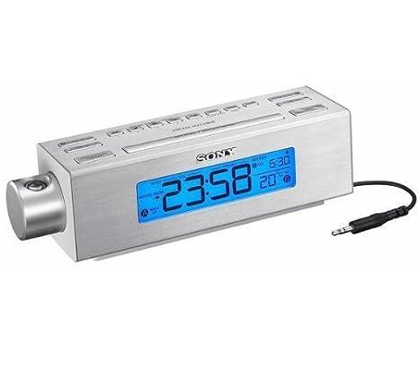 SONY Radio despertador proyector ICFC717PJ: Amazon.es: Electrónica