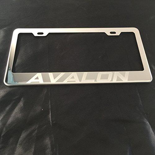 license plate frame avalon - 2