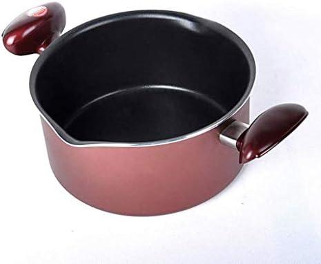 DYXYH Marmite en acier inoxydable Pot double fond marmite à soupe de cuisson non magnétique multi-usage ustensiles antiadhésifs Pan soupe Marmite marmite à soupe